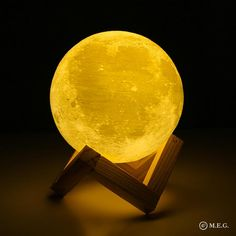 Buy Rechargeable Lights Print Moon Lamp 2 Color Change Touch Switch Bedroom Bookcase Usb Led Night Light Home Decor Creative Gift . Print Moon, Bedroom Bookcase, Bedroom Desk, Lampe 3d, 3d Light, Lamp Light, White Light, Soft Light, 3d Printing Technology