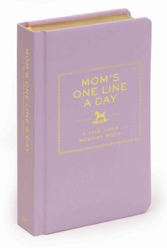 Mom's One Line a Day: A Five-year Memory Book (Notebook / blank book) | Overstock.com Shopping - The Best Deals on General