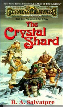 Loved the whole series.  The Crystal Shard: The Icewind Dale Trilogy, Book One,