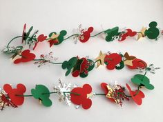Easy Mickey Garland - Use this for my retirement countdown