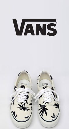 shoes, vans, marijuana leaf, marijuana print - Wheretoget