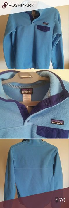 NEW LISTING! Patagonia Synchilla Pull-Over Mint condition. Worn once by the giftee who promptly decided she disliked the color. Gorgeous colors in the revived Synchilla style. Size Small. Phenomenal Patagonia quality. Patagonia Sweaters