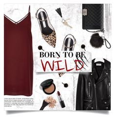 """""""Born to be Wild"""" by brynhawbaker ❤ liked on Polyvore featuring Yves Saint Laurent, Zolà, Chanel, MAC Cosmetics, Bobbi Brown Cosmetics, Belkin, River Island and Topshop"""