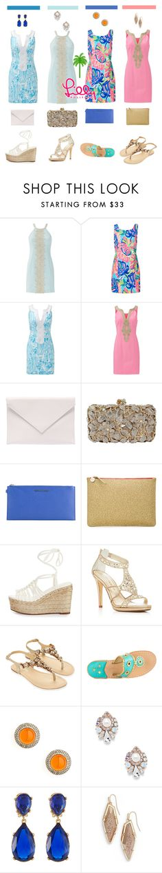 """""""Summer Resorts with Lilly"""" by savanahwalkie ❤ liked on Polyvore featuring Lilly Pulitzer, Verali, Michael Kors, Clare V., Chloé, Caparros, Monsoon, Jack Rogers, Syna and Sole Society"""