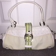 Cole Haan Purse Cole Haan Small Shoulder White Purse Cole Haan Bags