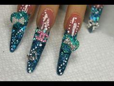 My Big Fat  American Gypsy Wedding Nail Art Design