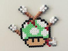 Perler bead mushroom arrows - by Bjrnbr