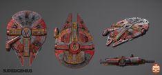 ArtStation - STARWARS: Attack Squadrons (CANCELLED) , Robert Fink