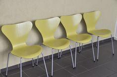 Fritz Hansen Stuhl 3107 Arne Jacobsen chair