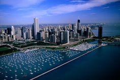 Chicago harbour, Chicago