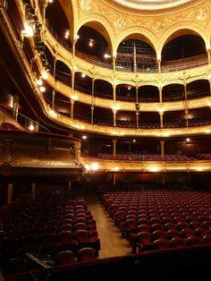 Théâtre du Châtelet, París Oh The Places You'll Go, Places To Visit, Metropolitan Opera, Theatre Stage, Theatre Design, Curtain Call, Performing Arts, Concert Hall, Paris