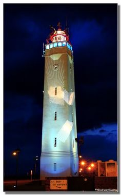 Lights over the lighthouse, Noordwijk - by Andrea Allasio