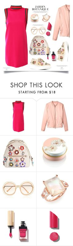 """""""Cherry Pie"""" by sue-mes ❤ liked on Polyvore featuring Gucci, Alexander McQueen, 10 Crosby Derek Lam, Fendi, Paul & Joe, Chloé, Ippolita and Chanel"""