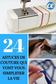 24 Astuces de Couture Qui Vont Vous Simplifier la Vie. Ne Ratez Pas la N°21 !