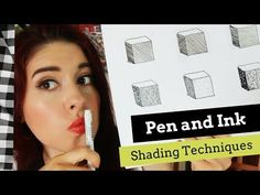 Pen and Ink Shading Techniques- Exploring Mark-Making Using Drawing Pen Watercolor Beginner, Shading Techniques, Teaching Art, Teaching Ideas, Visual Texture, Drawing For Beginners, India Ink, Ink Pen Drawings, Elements Of Art