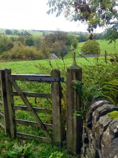 Long country walks jumping over wooden gates...life's simple pleasures.
