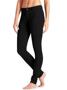Ponte Skinny Pant - The stretch Ponte pant for the city life thats super soft and yoga-pant-comfy.