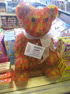 GUMMMY BEAR! This bear wouldn't stand a chance in my house!