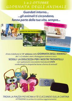Torna la Giornata degli Animali: banchetti Enpa nelle piazze italiane, tra solidarietà e informazione :http://www.qualazampa.news/event/torna-la-giornata-degli-animali-banchetti-enpa-nelle-piazze-italiane-tra-solidarieta-e-informazione/