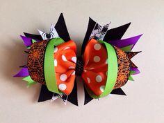 Halloween hair bow idea