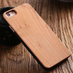 KISSCASE Natural Real Wood Bamboo Wood Case For iPhone 6 6s Plus 7 7 Plus 5 5s SE Samsung Galaxy S7 S7 Edge Vintage Phone Case