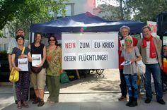 Aktion am Schillerpark Linz, 30. Mai 2015