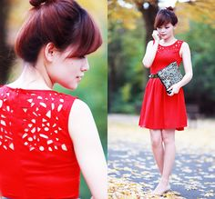 Cut-Out (by Lini Trinh) http://lookbook.nu/look/4168828-Cut-Out