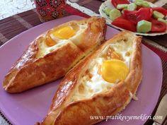 Yumurtalı ve Peynirli Pideler