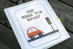 Free printable. Easy way to keep the kids entertained on the road! Print the activities, slide them into a binder and you're ready to go. {Playdough to Plato}