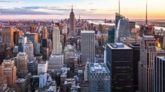 new york city sunset wallpaper download hd collection