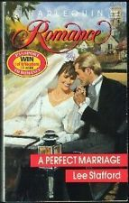 USED (GD) A Perfect Marriage (Harlequin Romance, No 3088) by Lee Stafford