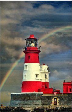 Rainbow - Lighthouse