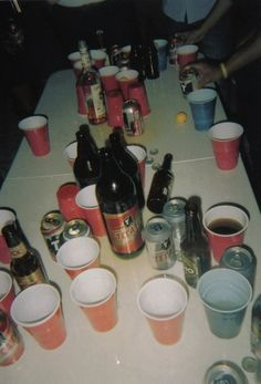 Well we were playing beer pong last night… Beer Pong, Spotify Playlist Cover, Fille Gangsta, Alcohol Aesthetic, The Wicked The Divine, Young Wild Free, Teenage Dirtbag, Partying Hard, Teenage Dream