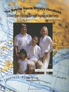The Special Needs Ministry Handbook: A Church's Guide to Reaching Children with Disabilities and Their Families by Amy Rapada, http://www.amazon.com/dp/1419665472/ref=cm_sw_r_pi_dp_.xApqb1AW9Z8D