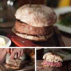 lamb burger at the breslin