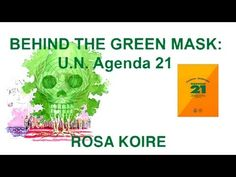 """Behind the Green Mask - Rosa Koire....Have you seen the movie """"The Hunger Games""""? Yeah...that's a look into the future if we do not Stop it! Stop these Evil people!!"""
