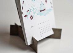 12 Musketeers calendar - possible desktop display