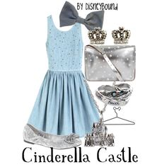 "Magic Kingdom 2: ""Cinderella Castle"" by lalakay on Polyvore"