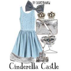 "Magic Kingdom 2: ""Cinderella Castle"" by lalakay on Polyvore"