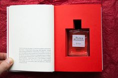 Paper Passion - Perfume for Book Lovers - formulated by Geza Schoen + packaging design by Karl Lagerfeld