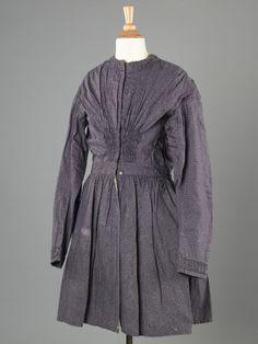 Child's dress, 1875-1900.