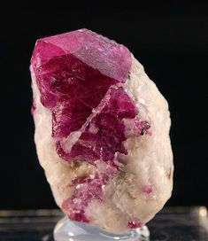 minfind.com - Corundum var. Ruby from Jagdalak Ruby Mine, Sorobi District, Kabul Province, Afghanistan