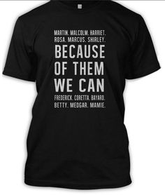 Black History Month T-Shirts To Help You Wear Your Pride | Essence.com