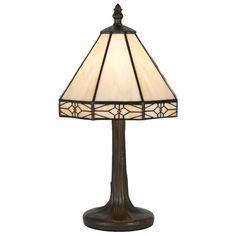"Tiffany 13.5"" H Table Lamp with Bowl Shade"