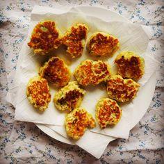 broccoli & cauliflower fritters