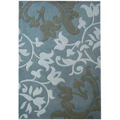 Safavieh Soho Aaron Wool Rug, Blue / Multi-Color