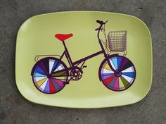 Bike Platter. I would love to serve some mini sandwiches on top. What would you put?