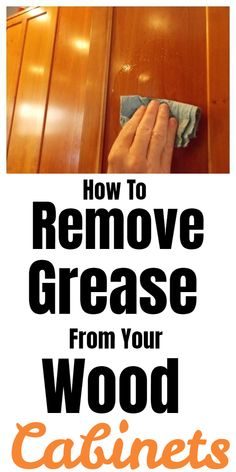 Cleaning Cabinets, Cleaning Wood, Household Cleaning Tips, Household Cleaners, Cleaning Recipes, Green Cleaning, House Cleaning Tips, Cleaning Hacks, Diy Cleaners