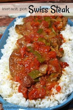 Instant Pot Swiss Steak Instant Pot Swiss Steak & This one pot wonder is not only my families number one favorite dish but it& easy and perfect for a hearty meal. Serve it along The post Instant Pot Swiss Steak appeared first on Guadalupe Pratt. Crock Pot Recipes, Slow Cooker Recipes, Beef Recipes, Cooking Recipes, Recipies, Crockpot Meals, Recipes With Ham Easy, Freezer Meals, Crockpot Swiss Steak Recipes