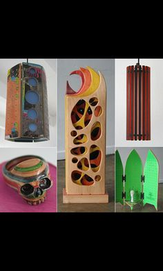 Uses for broken skateboard decks